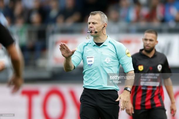 Bjorn Kuipers, el árbitro más experimentado (Foto: Getty Images)