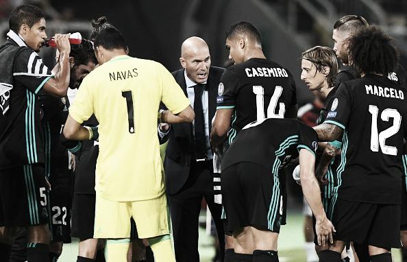 Casemiro se tornou homem de confiança de Zidane (Foto: Reprodução/Getty Imagens)