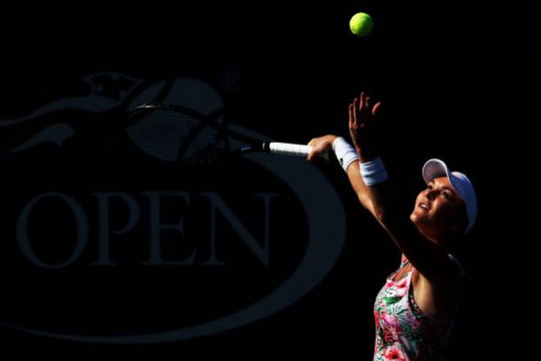 Radwanska proved too strong as she reached the second round (Getty/Elsa)
