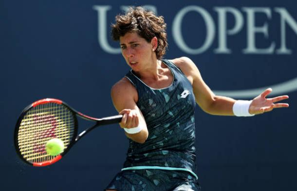 Suarez Navarro could be a danger in this draw (Getty/Matthew Stockman)