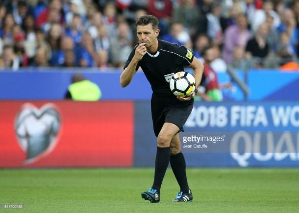 Gianluca Rocchi, el árbitro más experimentado (Foto: Getty Images)