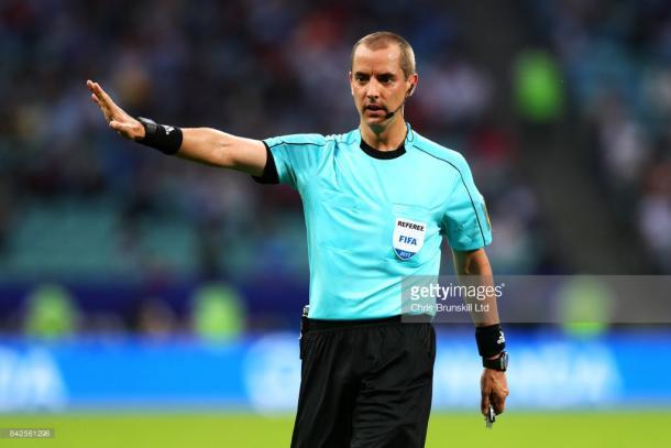 Mark Geiger , el experimentado árbitro estadounidense | Foto: Getty Images