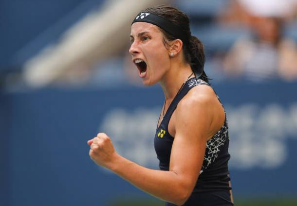 Sevastova fell just short in a thrilling contest (Getty/Elsa)