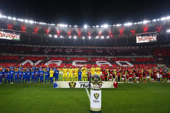 Torcida marcou presença no Maracanã para assistir à final da Copa do Brasil (Foto: Buda Mendes/Getty Images)