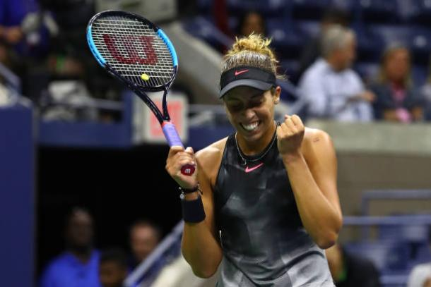Keys has become a solid Grand Slam performer (Getty/Al Bello)