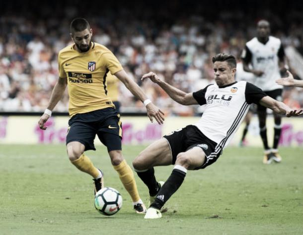 No último encontro entre as equipes, ainda em 2017, empate sem gols | Foto: Jaime Reina/Getty Images