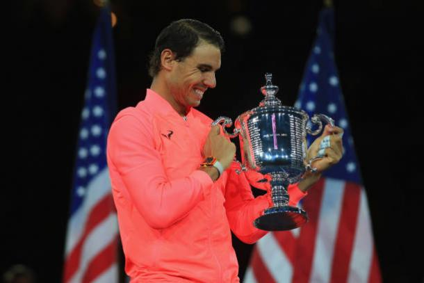 Nadal won his 16th Grand Slam title at the 2017 US Open