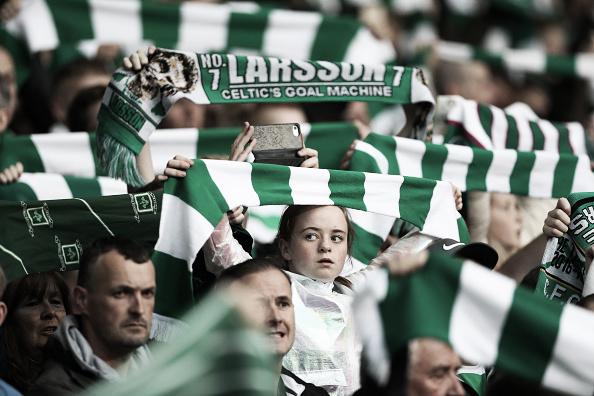 Adversário do PSG, Celtic possui uma das torcidas mais fanáticas da Europa (Foto: Getty Images)