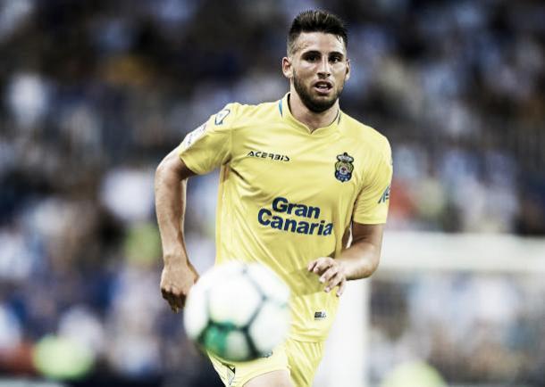 Calleri tem 2 gols pelo Las Palmas | Foto: Aitor Alcalde Colomer/Getty Images