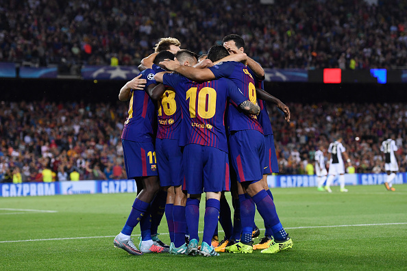 Barça domina o segundo tempo e larga bem no Grupo D (Foto: Alex Caparros/Getty Images)