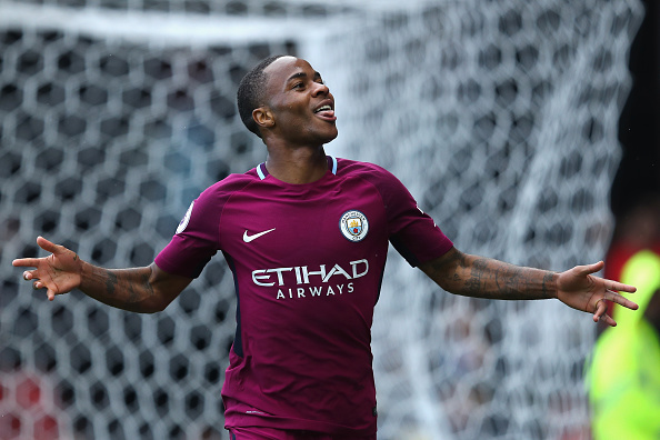 De pênalti, Sterling fechou o caixão do Watford (Foto: Richard Heathcote/Getty Images)