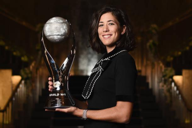 Garbine Muguruza could regain the world number one ranking she first held last season (Getty/Matt Roberts)