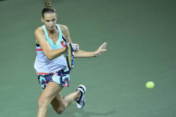 Pliskova fell just short in a battle between two former world number ones (Getty/Matt Roberts)