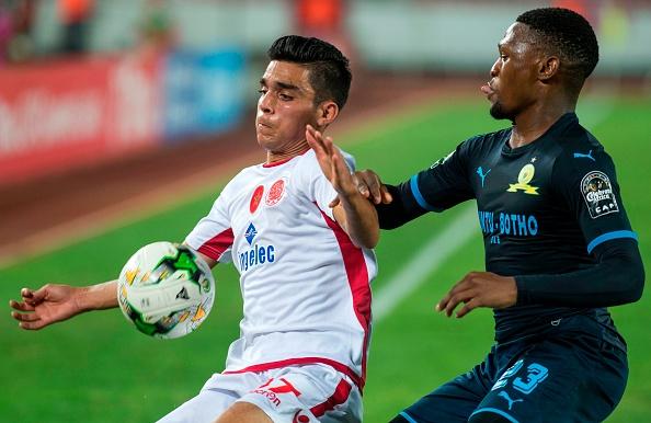 Partido disputado entre el Mamelodi Sundowns y el Wydad Athletic Club en la fase de grupos de la Liga de Campeones de la CAF | Getty Images