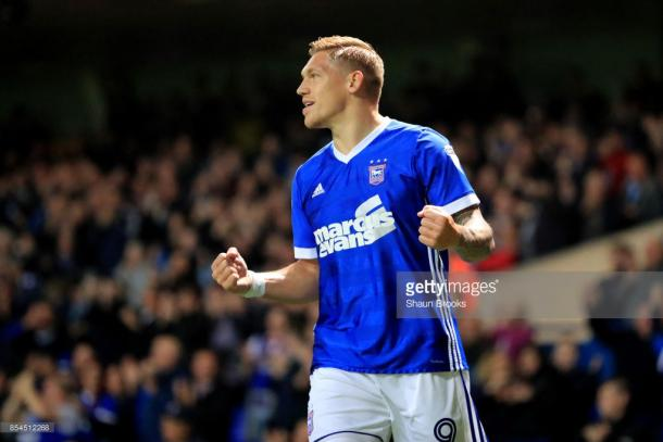 Waghorn has scored six goals for Ipswich since joining from Rangers. (picture: Getty Images / Shaun Brooks)