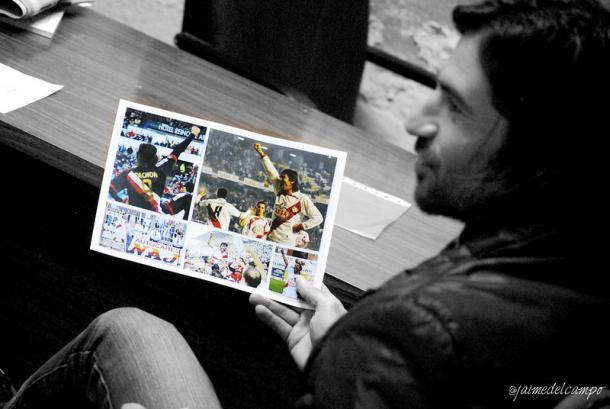 Pachón recuerda su etapa en el Rayo Vallecano. Fuente: VAVEL.com