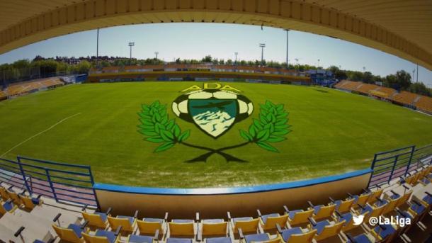 Estadio de Santo Domingo en Alcorcón. | Foto: LaLiga
