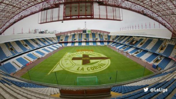 Estadio Abanca-Riazor en A Coruña. | Foto: LaLiga