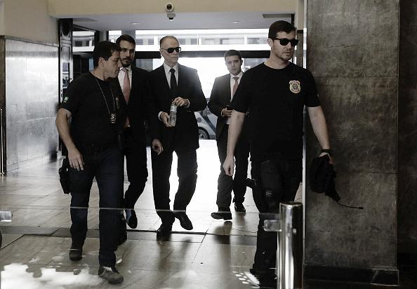 Nuzman foi levado à sede da Polícia Federal para prestar depoimento nesta terça (Foto: Fabio Teixeira/Anadolu Agency/Getty Images)