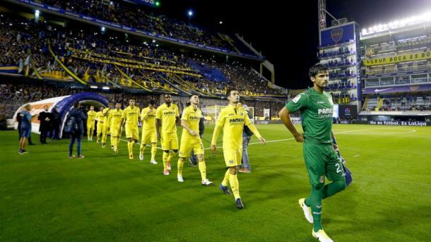 Imagen del encuentro amistoso que el Villarreal disputó en La Bombonera | Villarreal CF