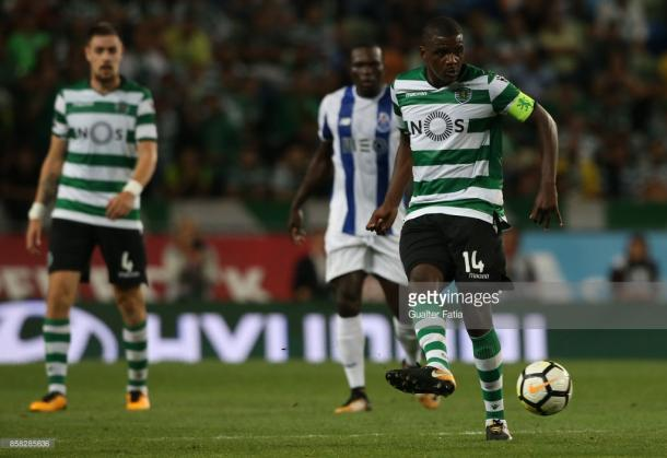 Sporting will be looking to frustrate their hosts on Wednesday evening. (picture: Getty Images / Gualter Fatia)