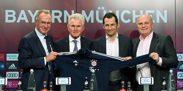 Jupp Heynckes apresentado: