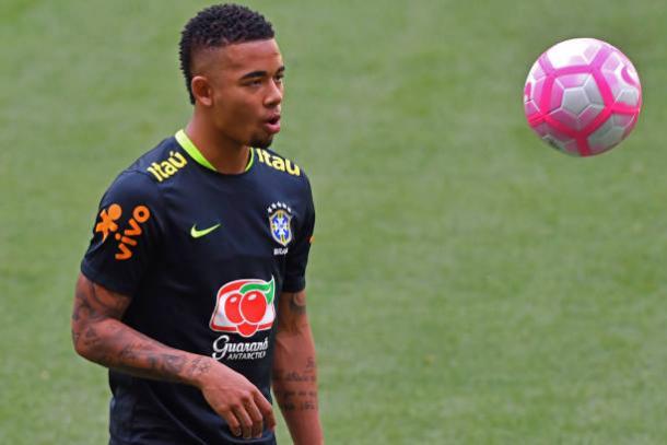 Campeão brasileiro com o Palmeiras, Gabriel Jesus retorna ao Allianz Parque após dez meses, mas desta vez pela seleção (Foto: Getty Images)