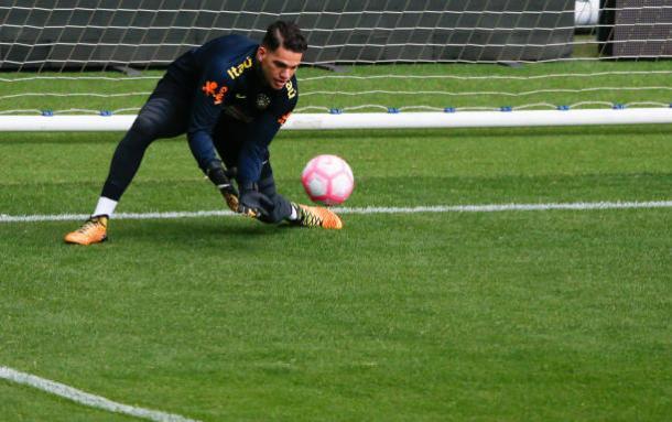 Éderson, goleiro do Manchester City, ganhará primeira oportunidade entre os titulares da Seleção Brasileira (Foto: Getty Images)