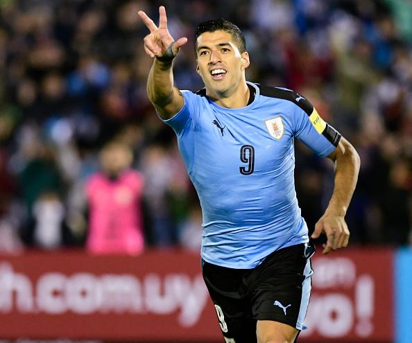 Luis Suárez, peligro ofensivo de Uruguay | Getty Images