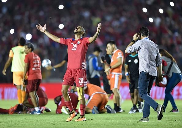Jogo da classificação panamenha foi emocionante (Foto: RODRIGO ARANGUA/AFP/Getty Images)