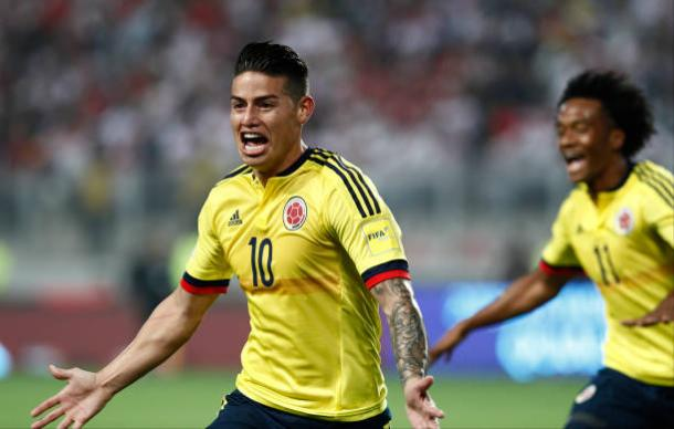 James Rodríguez é o grande destaque da seleção da Colômbia (Foto: Getty Images)