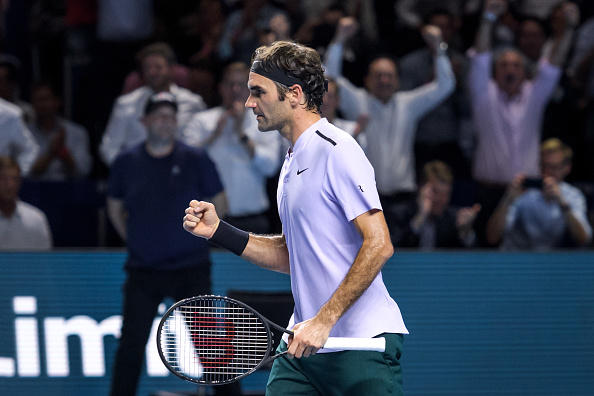 Federer e Del Potro avançam às semis na Basileia
