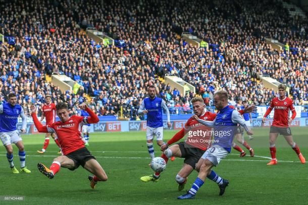 Wednesday were left to rue missed opportunities on Saturday afternoon. (picture: Getty Images / Mark Cosgrove)
