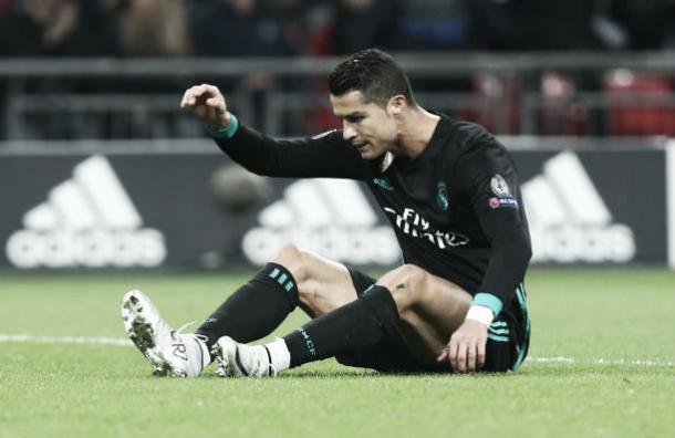 Cristiano Ronaldo lamenta mais uma jogada perdida | Foto: NurPhoto/Getty Images