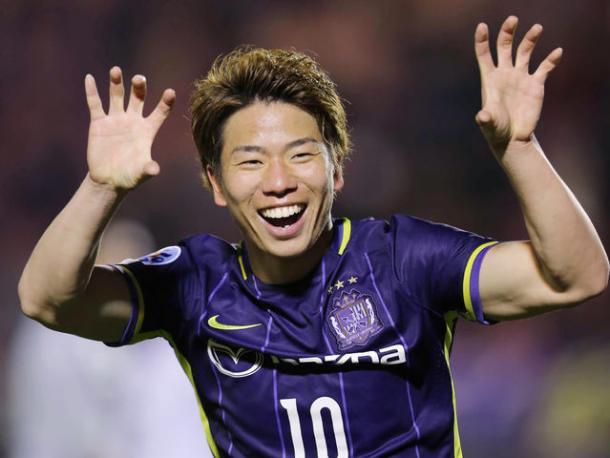 Asano is known as the Jaguar due to this celebration. | Photo: Arsenal