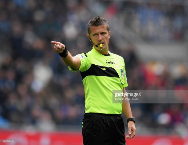 Daniele Orsato , el experimentado árbitro italiano| Foto: Getty Images