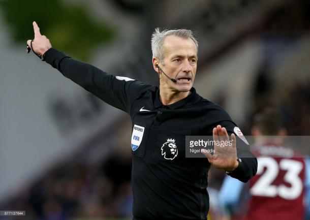 Martin Atkinson , el experimentado árbitro inglés | Foto: Getty Images