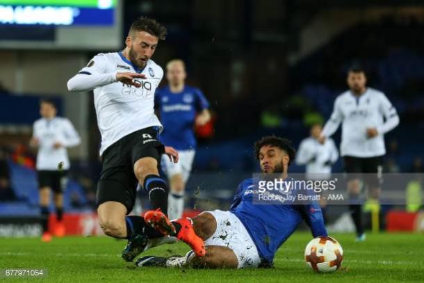 Cristante en el duelo ante el Everton. / Foto: gettyimages