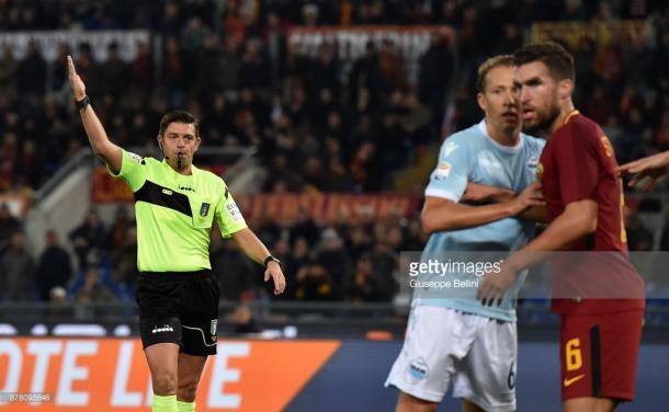 Gianluca Rocchi, el experimentado árbitro italiano   Foto: Getty Images