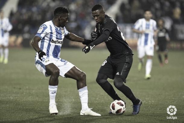 Vinicius aportó poco en ataque | Foto: LaLiga