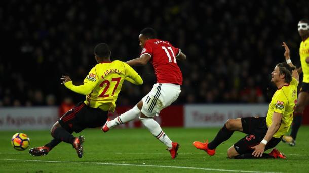 Silva remarcó los errores en el gol de Martial | Foto: Premier League.