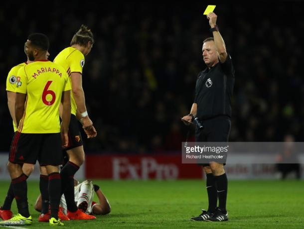Jonathan Moss, el experimentado árbitro inglés | Foto: Getty Images