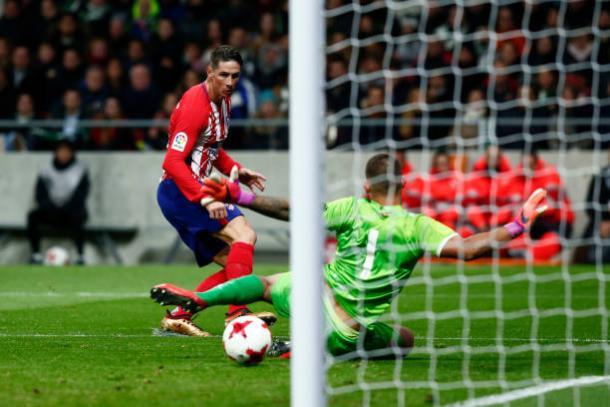 Fernando Torres marcou duas vezes na vitória do Atlético de Madrid (Foto: Getty Images)