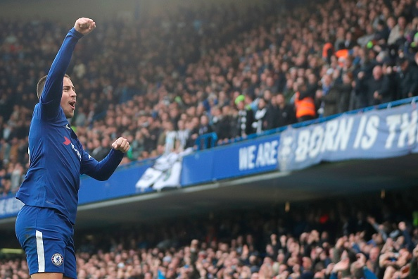 O dono do jogo comemora seu segundo gol (Foto: Daniel Leal-Olivas/AFP)