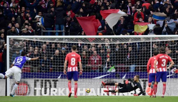 Willian José foi o destaque da Real Sociedad na derrota para o Atlético de Madrid (Foto: Getty Images)