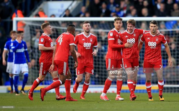 Can Kieran Dowell score again for Forest on Saturday? (picture: Getty Images / Stephen Pond)