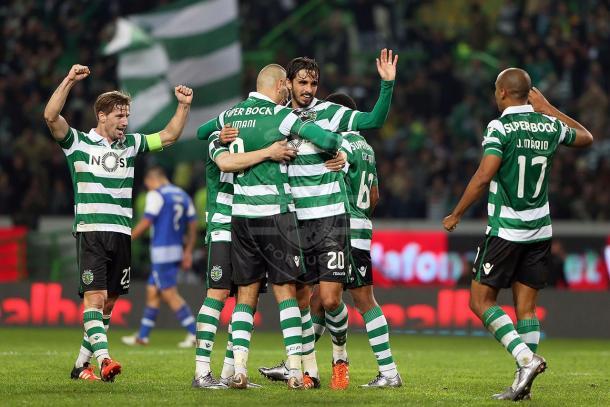 O Sporting pretende igualar o Porto no total das vitórias conseguidas contra o rival // Foto: Facebook do Sporting CP