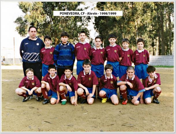 Fotografía: Base Pontevedra CF