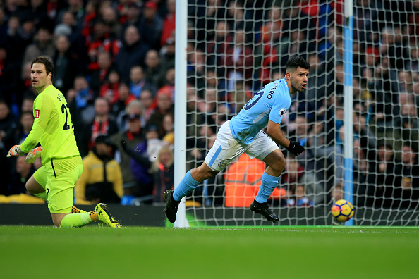 Agüero marcou duas vezes (Foto: Victoria Haydn/Manchester City FC)
