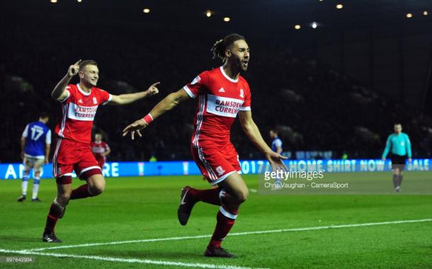 Ryan Shotton scored a late winner for Boro the last time these two sides met in December. (picture: Getty Images / Chris Vaughan - CameraSport)